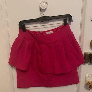 Milly Peplum Skirt